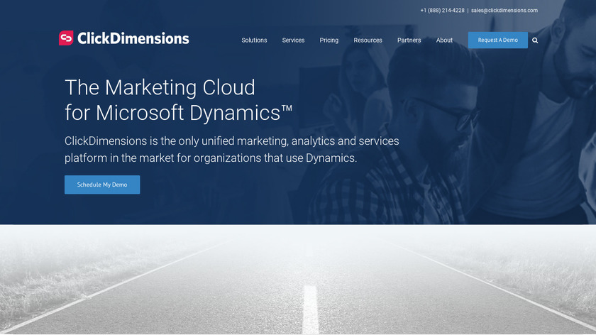ClickDimensions Landing Page
