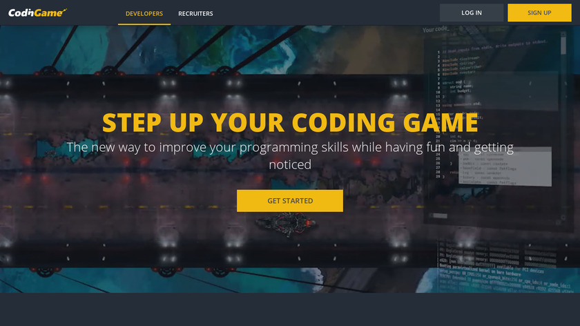 CodinGame Landing Page