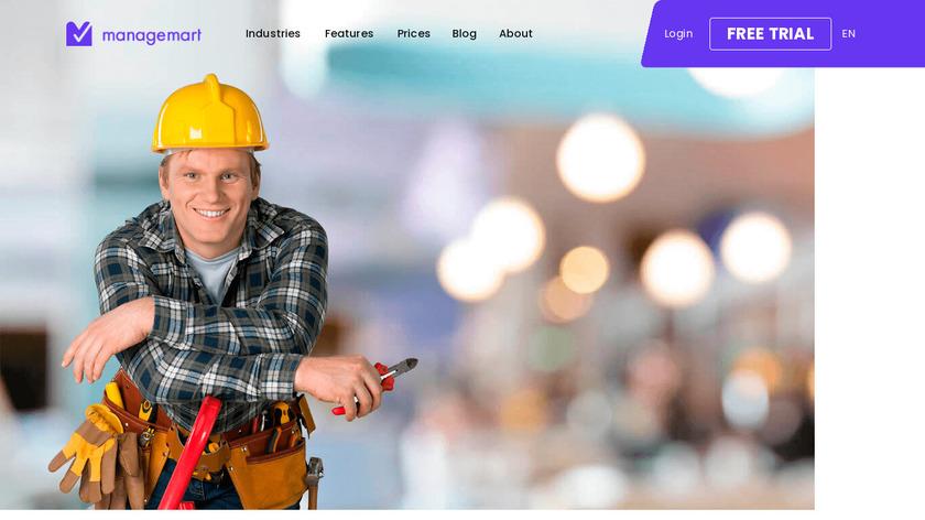 ManageMart Landing Page