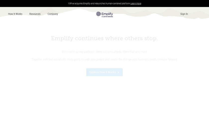 Emplify Landing Page