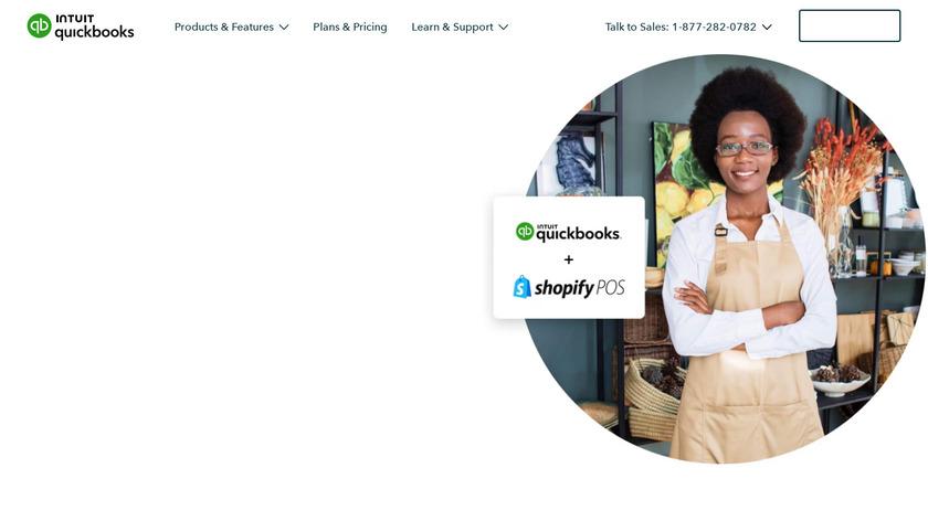 QuickBooksPOS Landing Page