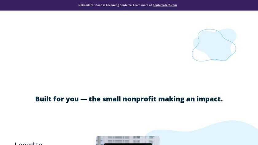 Network for Good Landing Page