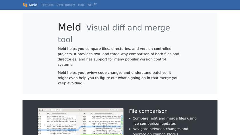Meld Landing Page