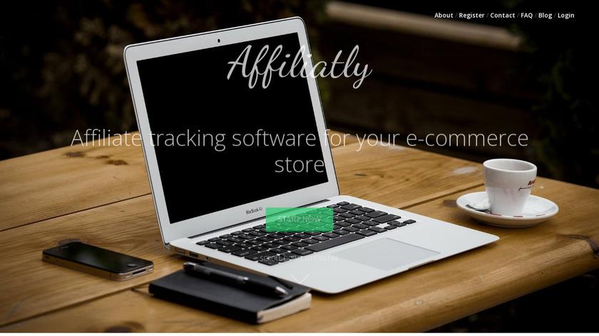 Affiliatly Landing Page