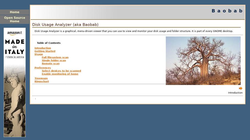 Baobab Landing Page