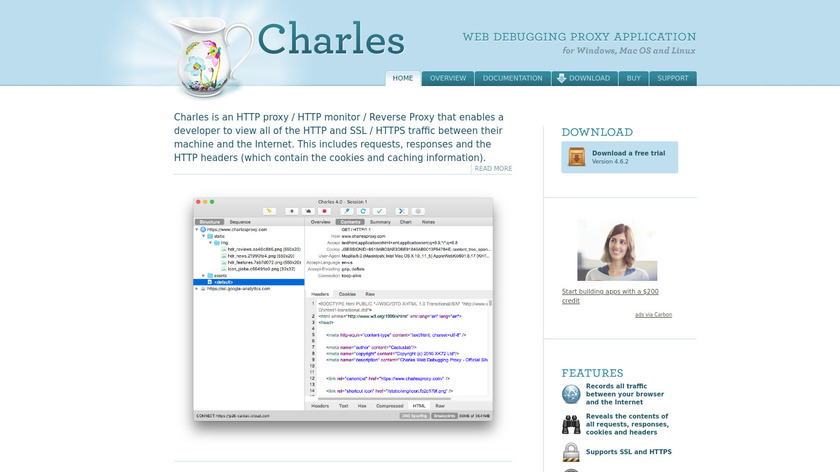 Charles Landing Page