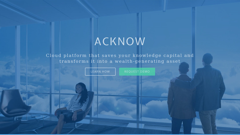 Acknow Landing Page