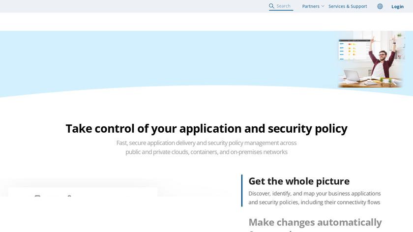 AlgoSec Landing Page