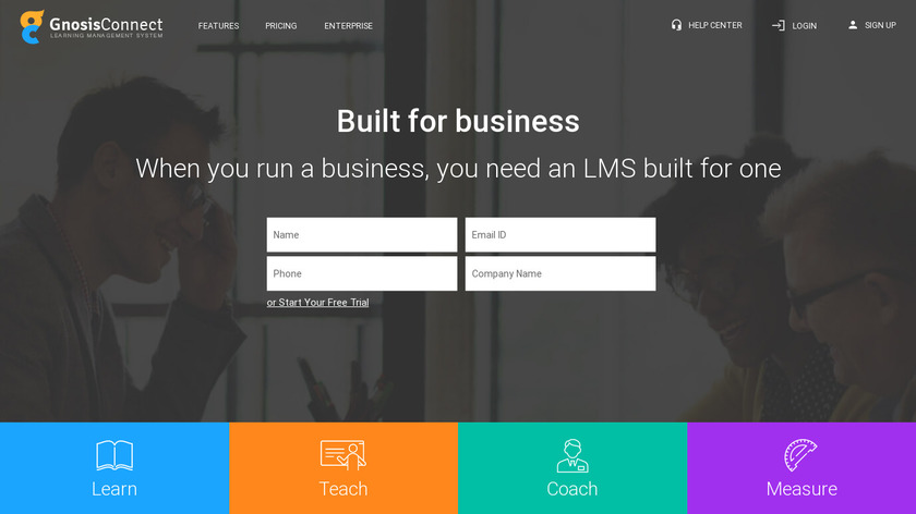 GnosisConnect Landing Page