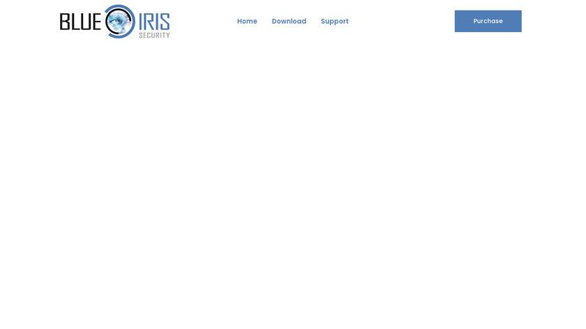 Blue Iris Landing Page