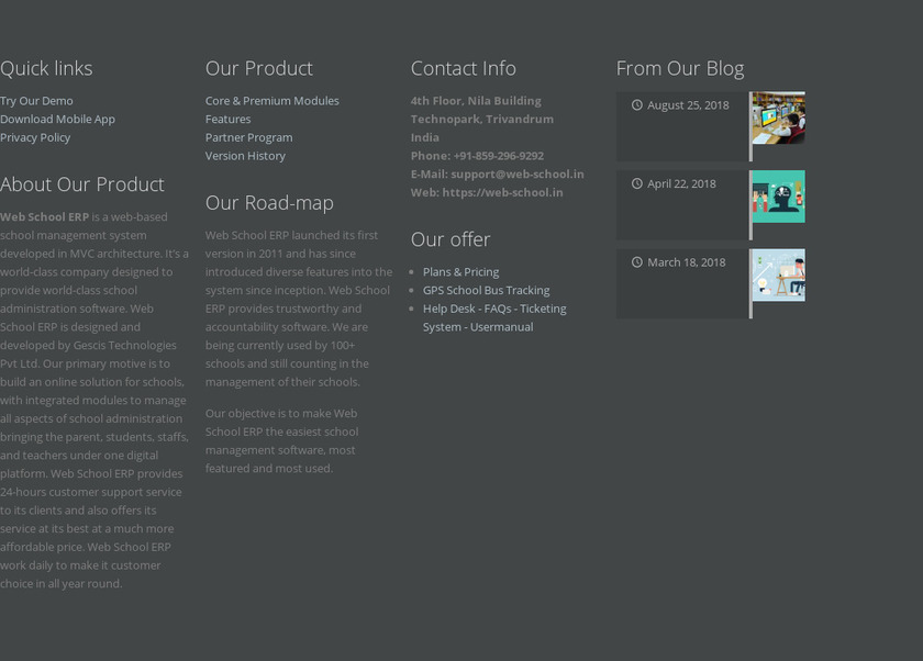 web-school.in Pricing