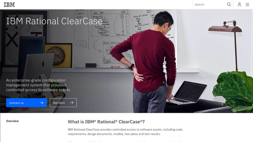 Rational ClearCase Landing Page