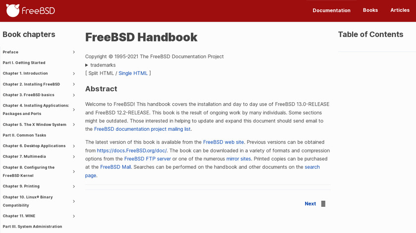 FreeBSD Jails Landing Page