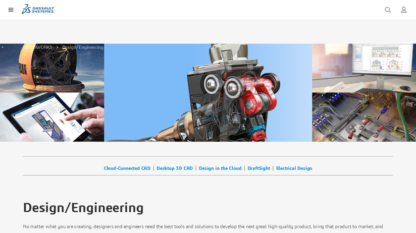 SolidWorks Electrical Landing Page