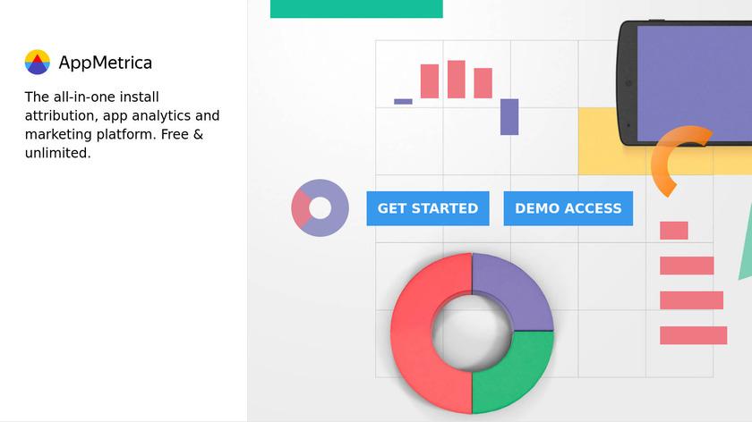 AppMetrica by Yandex Landing Page