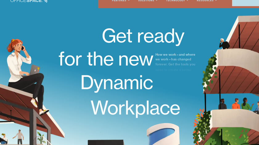 OfficeSpace Software Landing Page
