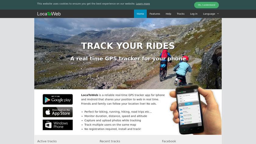 LocaToWeb Landing Page