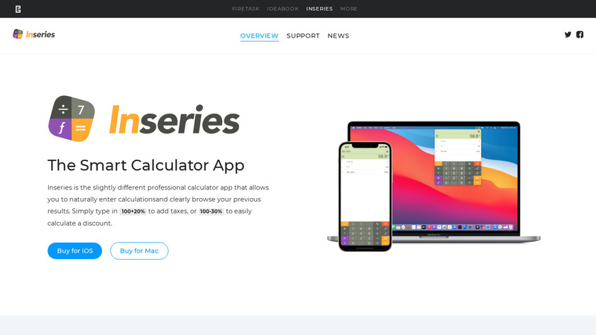 Inseries Landing Page