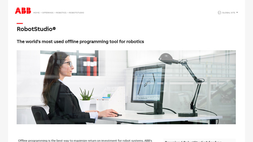 RobotStudio Landing Page