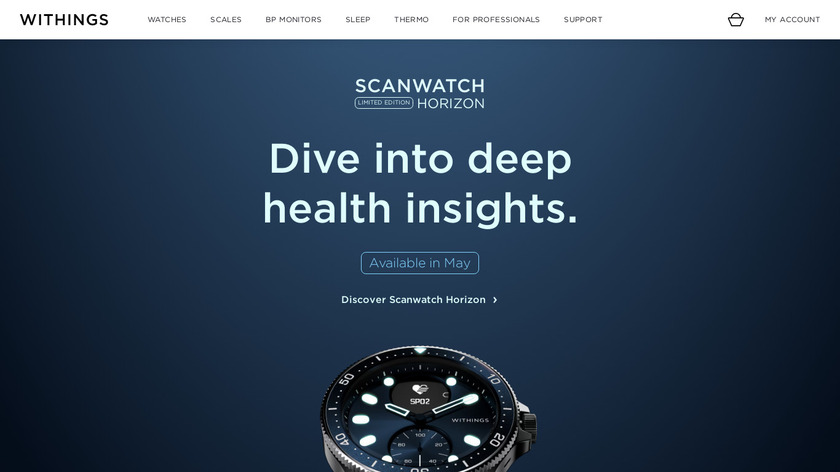 Withings Hair Coach Landing Page