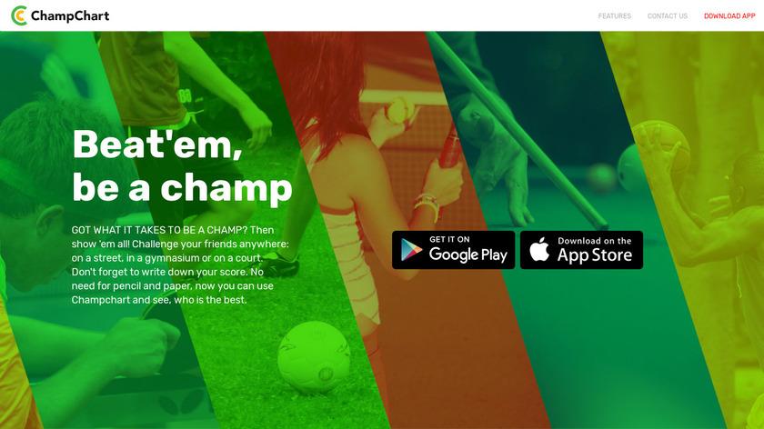 ChampChart Landing Page
