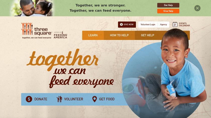 ThreeSquares Landing Page