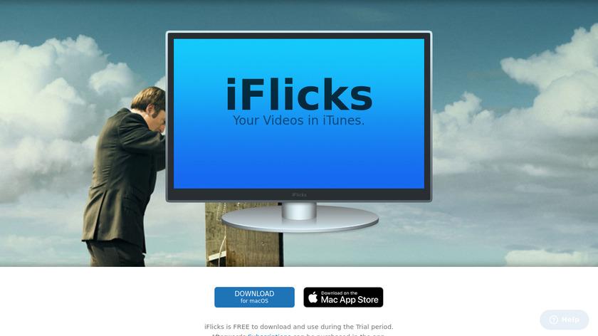 iFlicks Landing Page