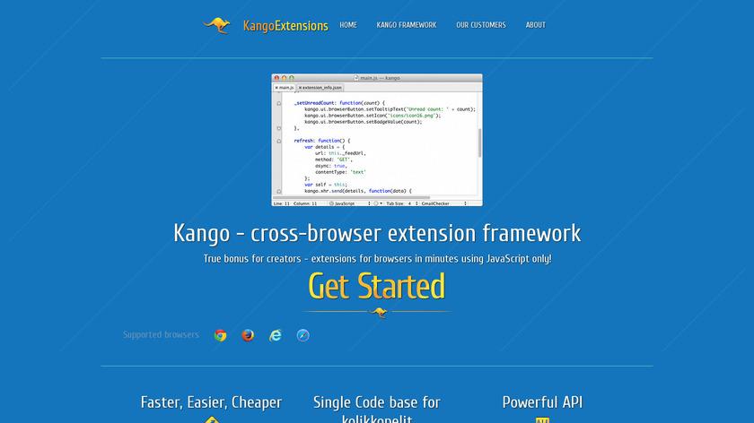 Kango Landing Page