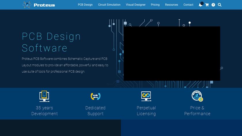 Proteus PCB design Landing Page