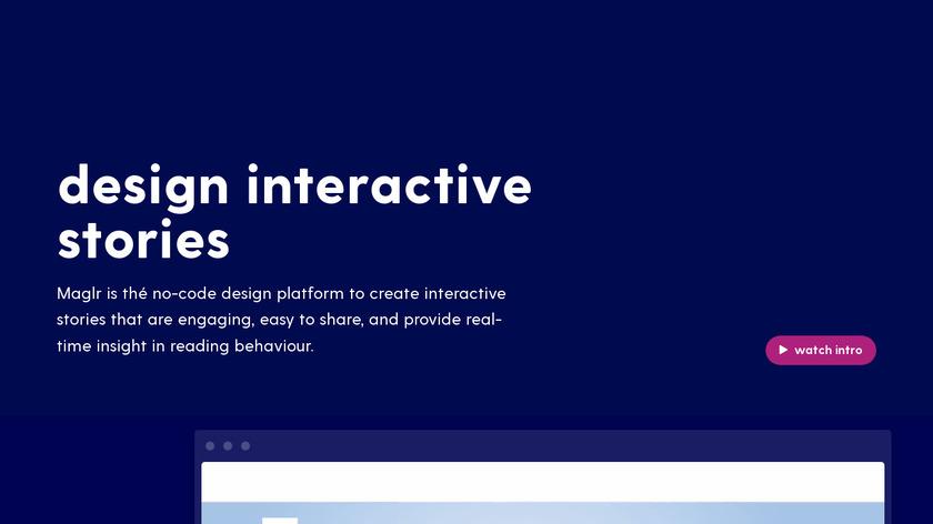 Maglr Landing Page