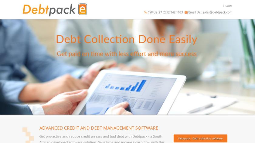 Debtpack Landing Page