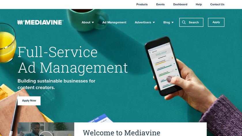 Mediavine Landing Page
