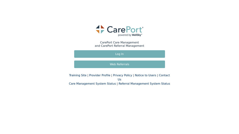 Allscripts CareInMotion Landing Page