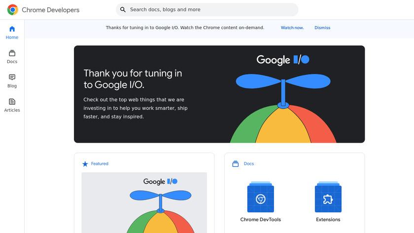 Chrome Mobile DevTools Landing Page
