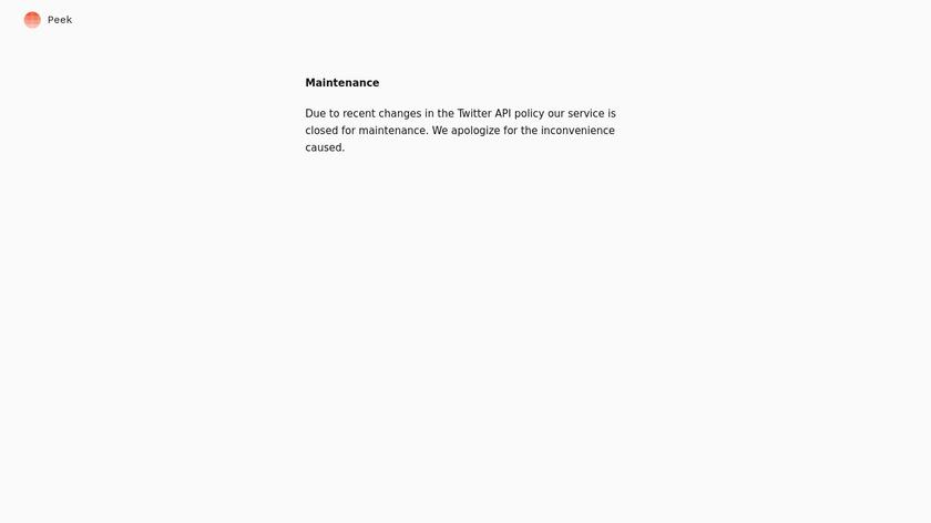 Morning Reader Landing Page