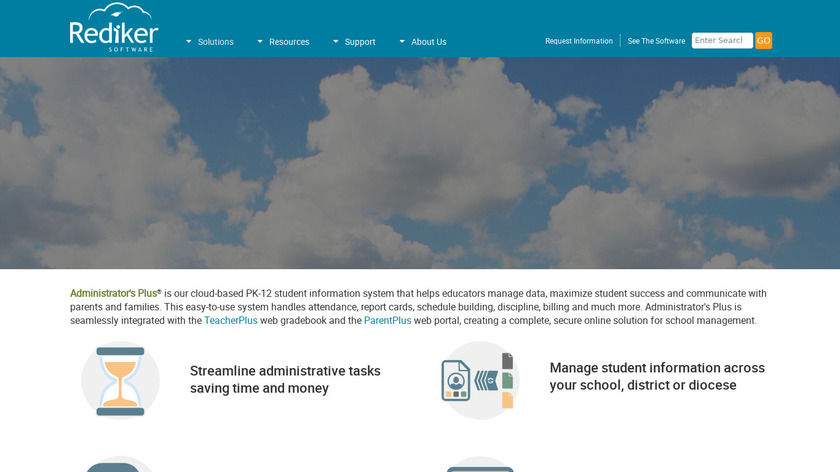 Administrator's Plus Landing Page