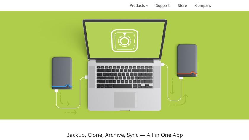 Get Backup Pro Landing Page