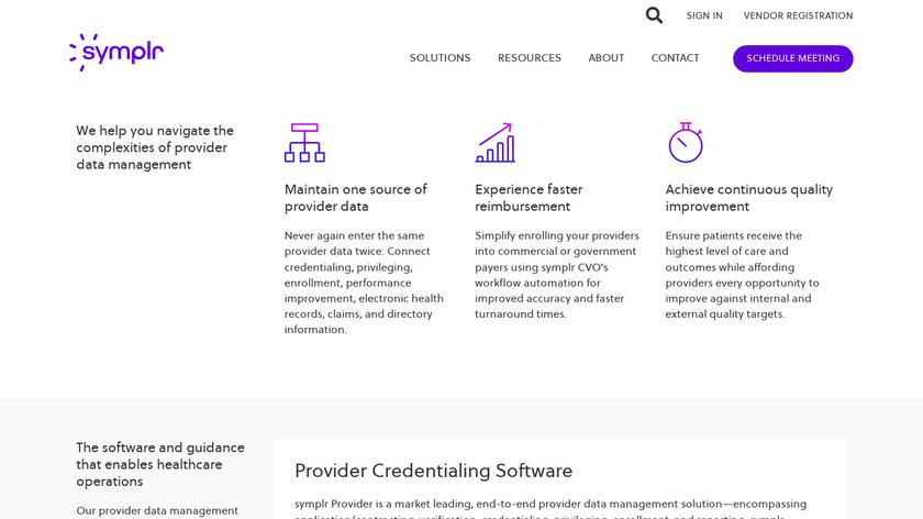 Cactus Provider Management Platform Landing Page