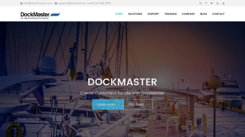 DockMaster Landing Page
