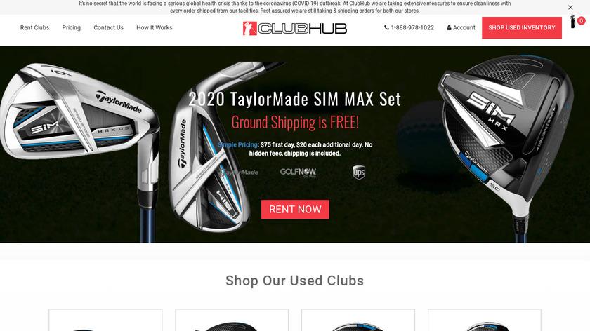 ClubHub Landing Page