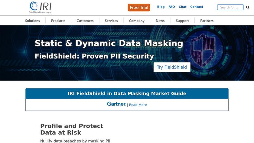 IRI FieldShield Landing Page