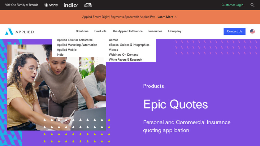 Applied Rater Landing Page