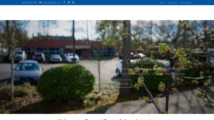 Bennett/Porter & Associates Landing Page