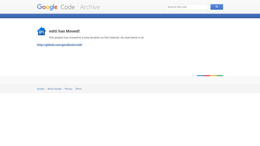 Volti Landing Page