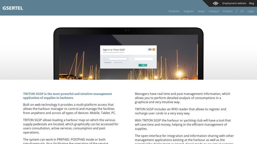 TRITON SGSP Landing Page