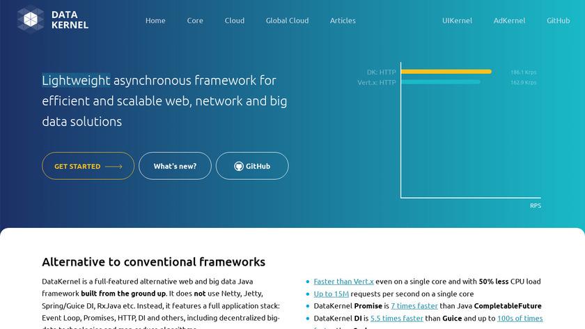DataKernel Landing Page