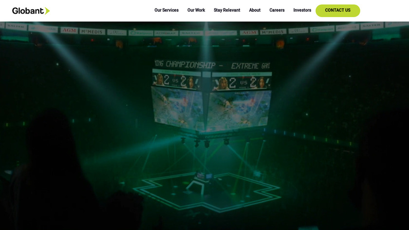 Belatrix Software Landing Page