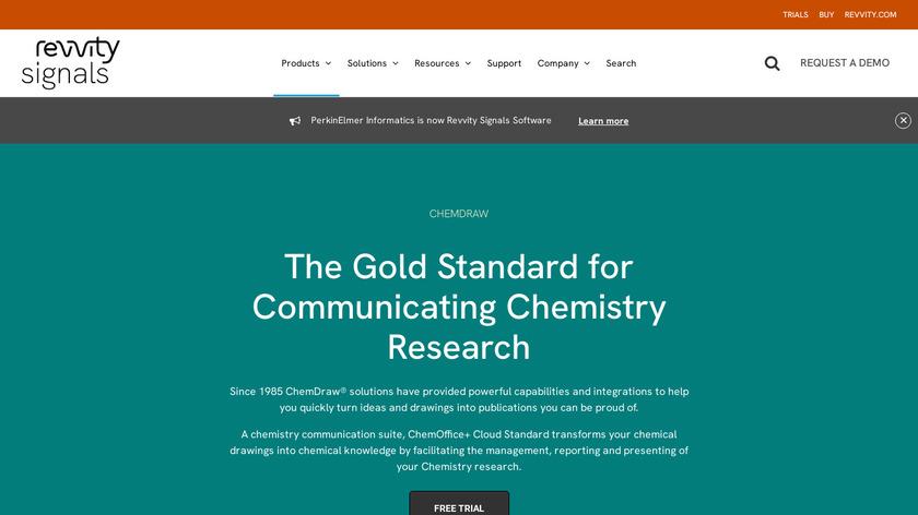 ChemDraw Landing Page