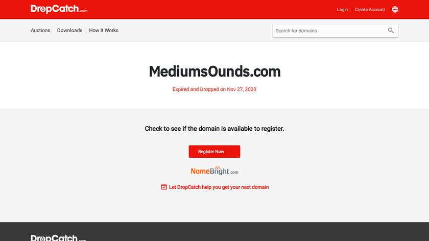 Medium Sounds Landing Page