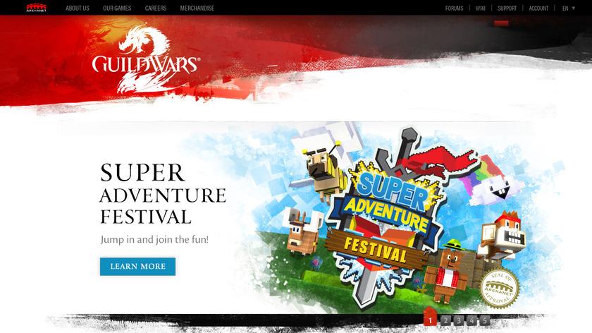 Guild Wars 2 Landing Page